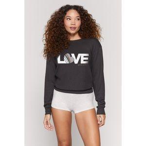 Spiritual Gangster Love Savasana Pullover Size L